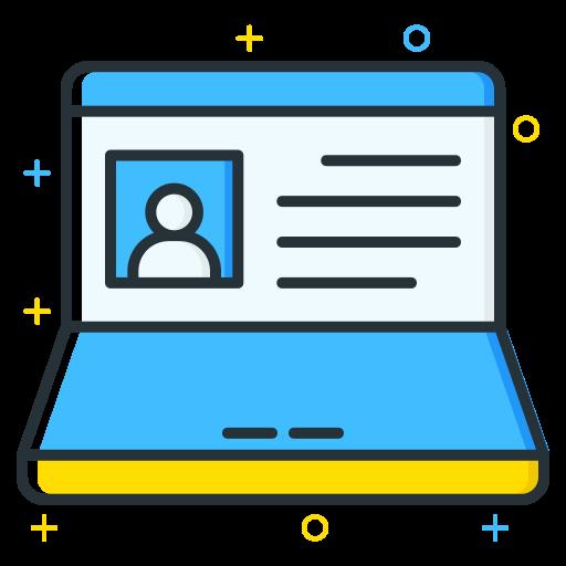 Laptop, Computer Icon Free Of Free Job Seeker