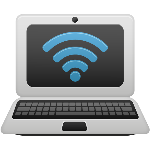Laptop Wifi Icon Pretty Office Iconset Custom Icon Design
