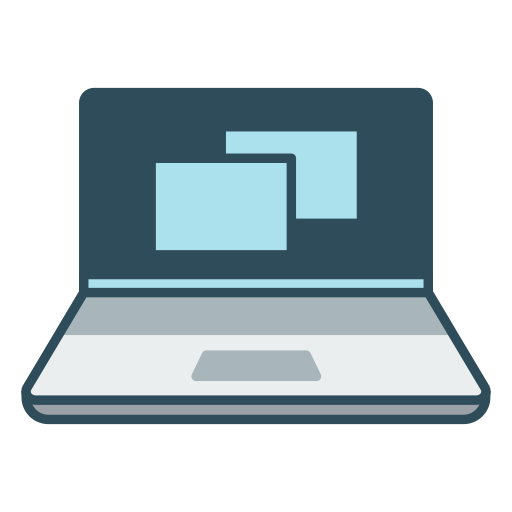 Laptop, Computer Icon Free Of Office