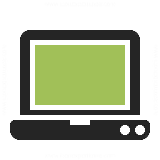 Laptop Icon Iconexperience