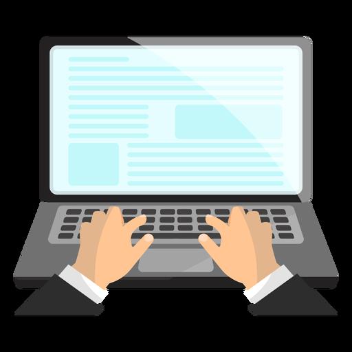 Office Laptop Icon