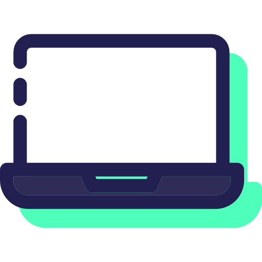 Laptop, Computer, Electronic, Computing, Technology Icon