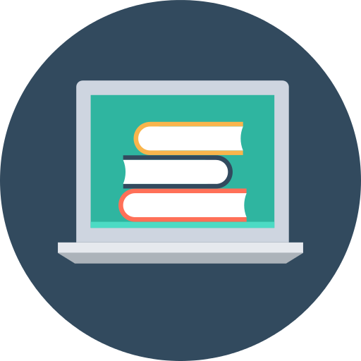 Laptop Study Png Icon