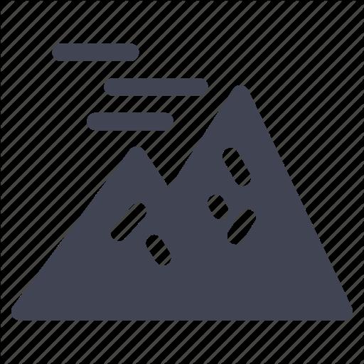 High, Large, Mountain, Mountains, Nature Icon