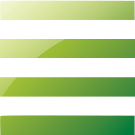 Web Green List View Icon