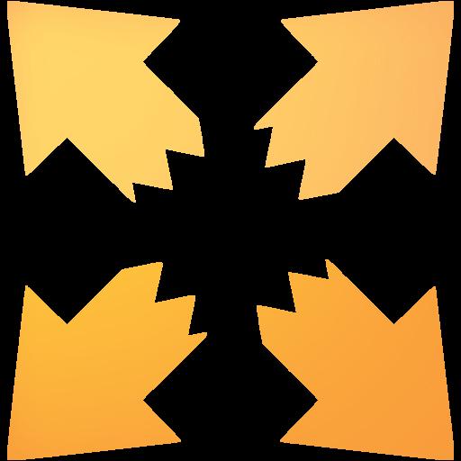 Web Orange Fullscreen Icon