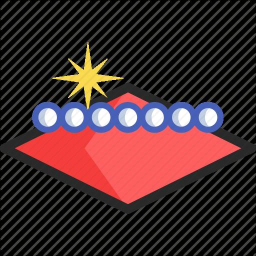 Casino, Gambling, Las Vegas, Sign Icon