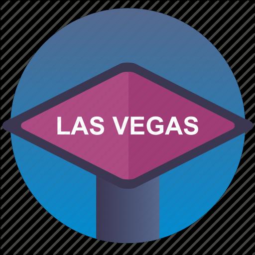City, Gamble, Game, Vegas Icon