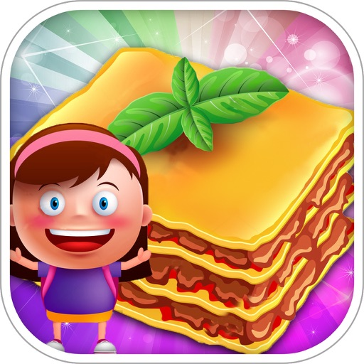 Baked Lasagna Chef Kids Cooking Game