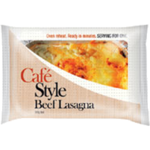 Cafe Style Beef Lasagna