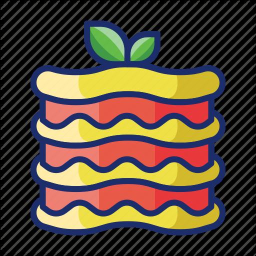 Lasagna, Pasta Icon