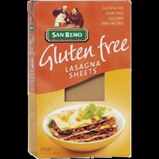 San Remo Gluten Free Lasagna
