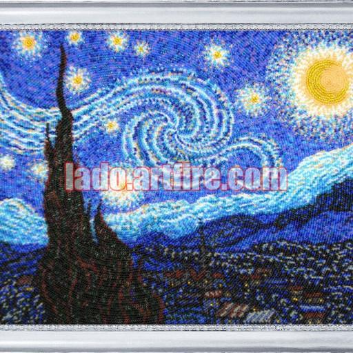 Starlit Night Diy Bead Embroidery Kit Needlepoint Beading
