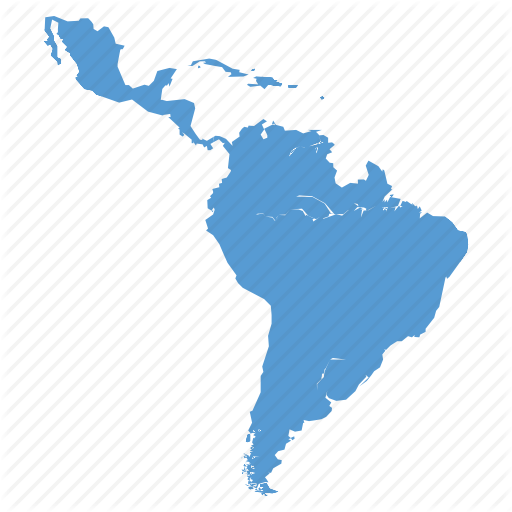 America, American, Country, Latin, Map, Navigation Icon