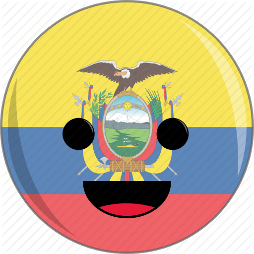 Awesome, Country, Cute, Ecuador, Face, Flags, Latino Icon