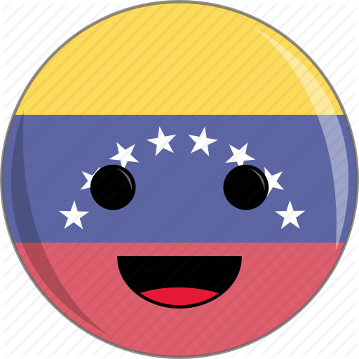 Awesome, Cute, Face, Flags, Latino, Venezuela Icon