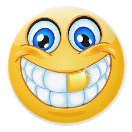Big Smile Happy Face Drawer Knob