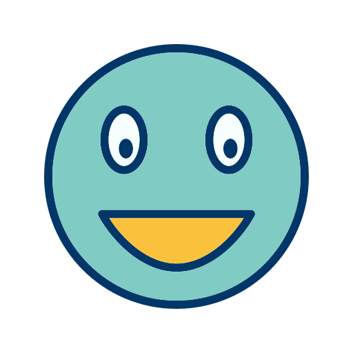 Emoticon, Face, Laughing, Smile Icon Free Of Emoticons Filled