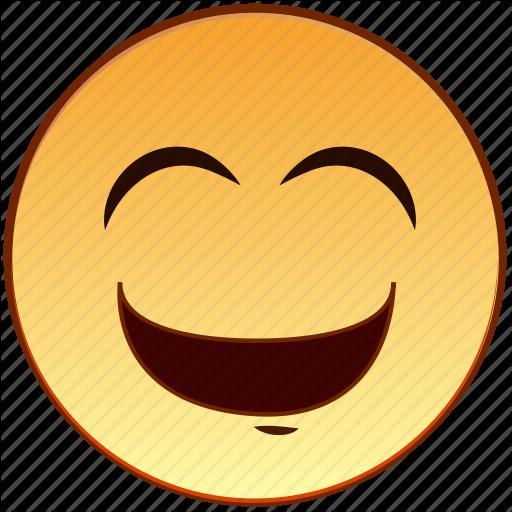 Cute, Emoticon, Emotion, Happy, Laugh, Laughing, Smiley Icon