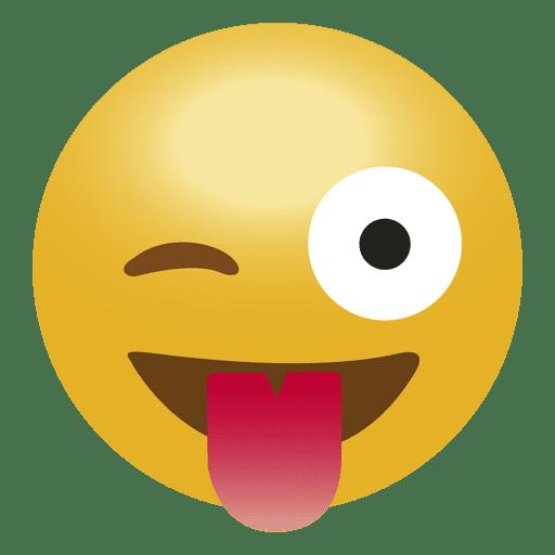 Laugh Tongue Emoji Emoticon