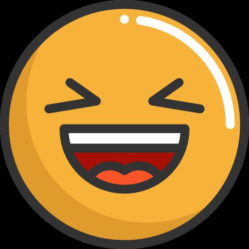 Emoticons, Emoji, Feelings, Smileys, Laughing Icon
