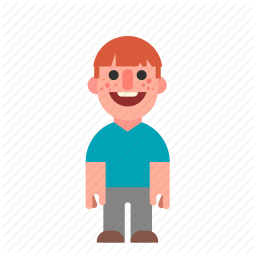 Ginger, Guy, Laughing, Man, Red, Redhead, Smiling Icon