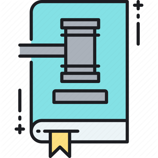 Book, Law, Law Book, Legal, Regulation, Rules Icon