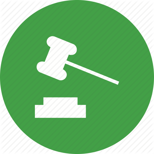 Court, Crime, Holding, Judge, Law, Order, Responsibility Icon