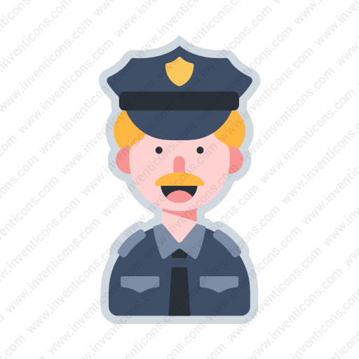 Download Avatar Police,avatar,police Icon Inventicons