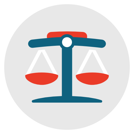 Legal, Law, Justice, Balance, Court, Judge Icon Free Of Flat