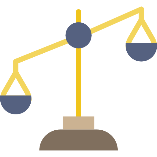 Justice Scale, Law, Justice, Balance, Judge, Laws Icon