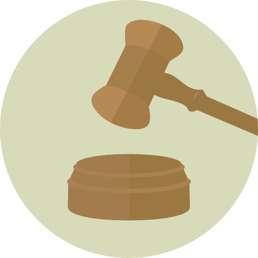 Miscellaneous, Hammer, Law Icon