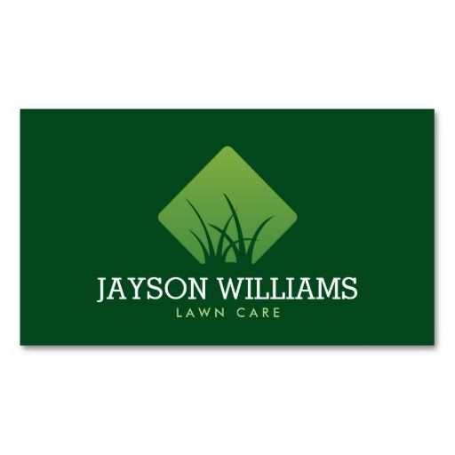 Professional Tree Landscaping Logo Business Card