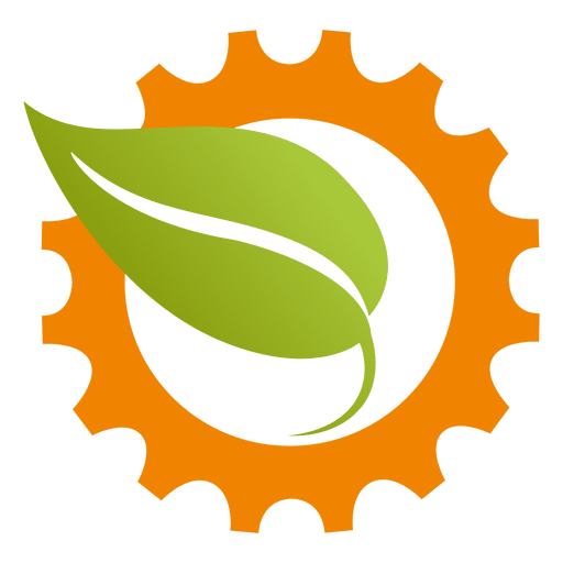 Cogwheel Leaf Icon