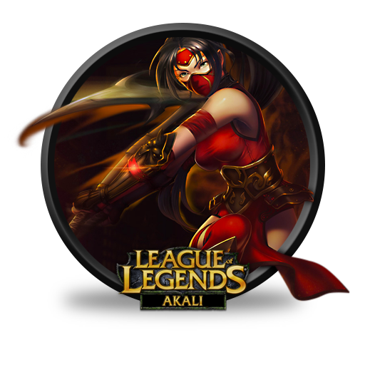 Akali Crimson Icon Free Download As Png And Formats