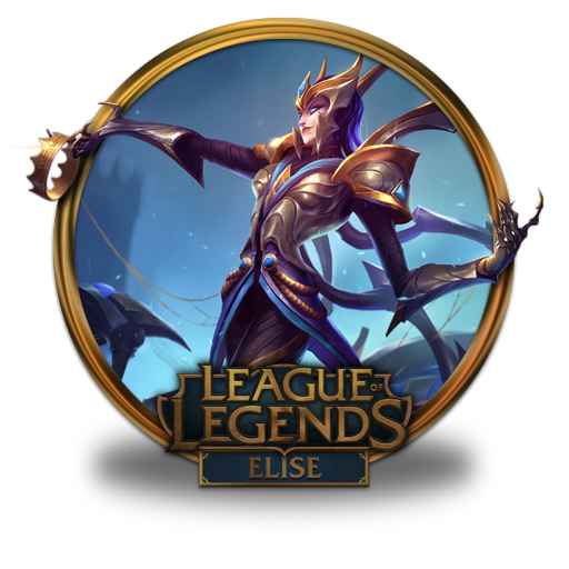 Elise, Victorious Icon Free Of League Of Legends Gold Border Icons