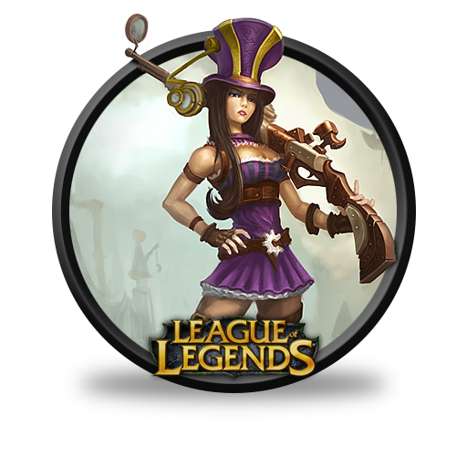 Caitlyn Icon League Of Legends Iconset
