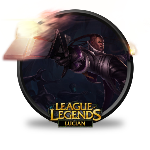 Lucian Icon League Of Legends Iconset