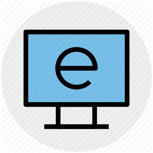 E Learning, Explore, Internet, Internet Explorer, Lcd, Learning Icon