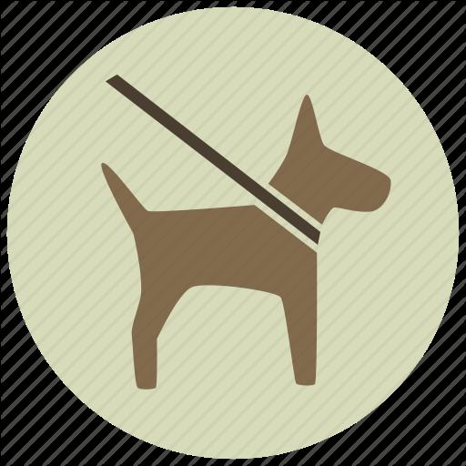 Animal, Dog, Dog Walk, Leash, On Leash, Pets, Walk Icon
