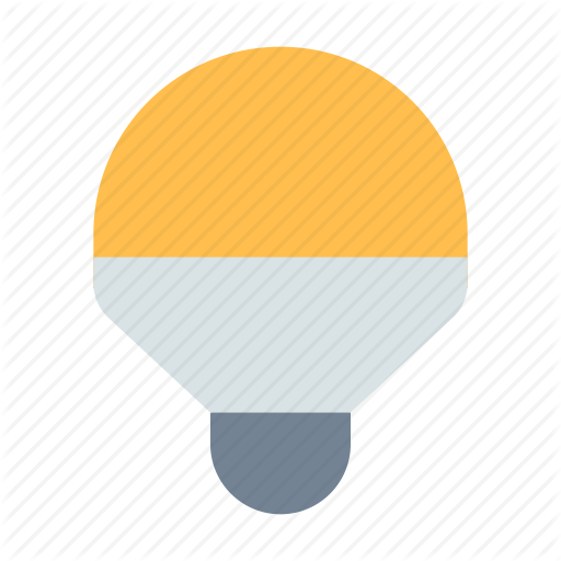 Bulb, Led, Light Icon
