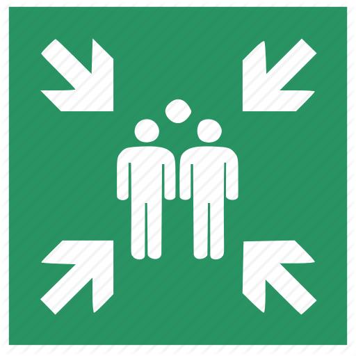 Collection, Communication, Escape, Grid, Internet, Point Icon