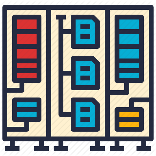 Business, Computer, Data, Intelligence, Legacy, Mainframe, Store Icon