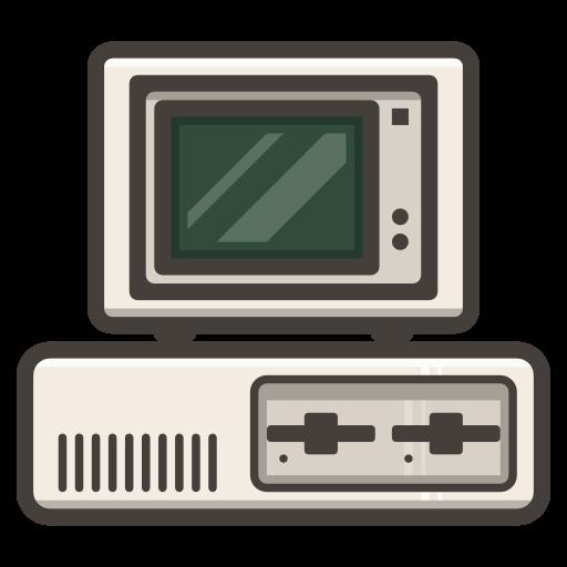 Ibm, Legacy, Computer, Server Icon Free Of Illustricons