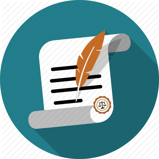 Business, Certificate, Contract, Feather, File, Legal, Paper Icon