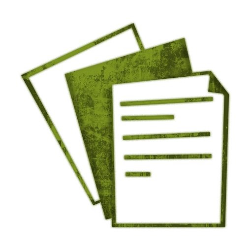 Document Icon Clipart Collection