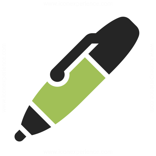 Ballpen Icon Iconexperience