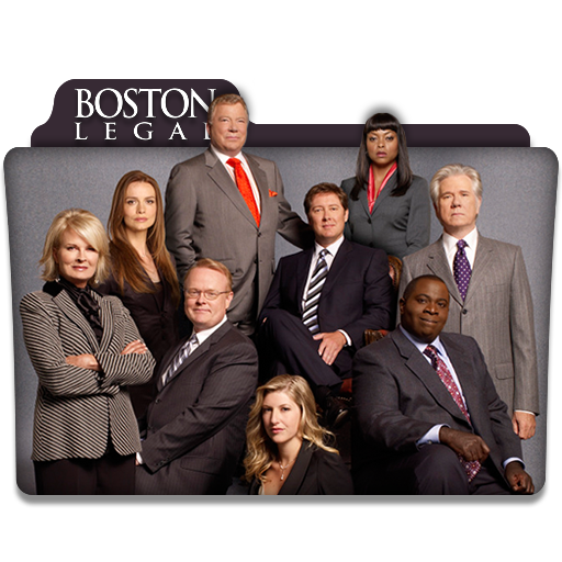 Boston Legal Tv Series Folder Icon