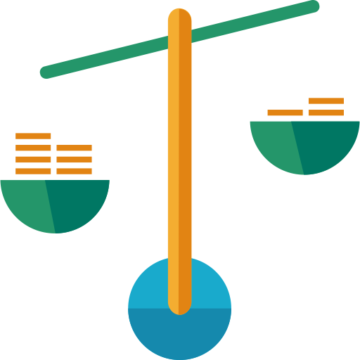 Balance Scale, Balance Scale, Law And Justice Scale Icon With Png