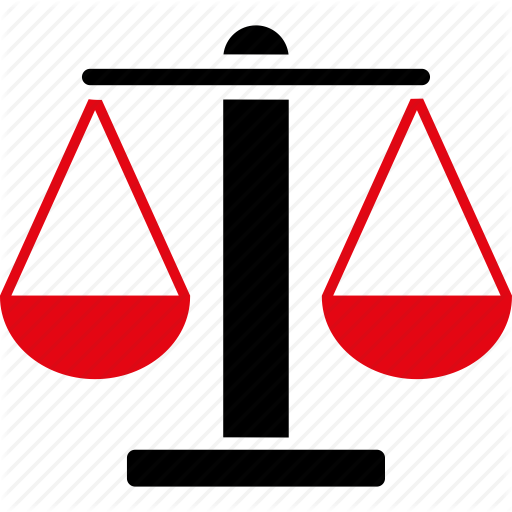 Law Scales Balance Weights Symbol